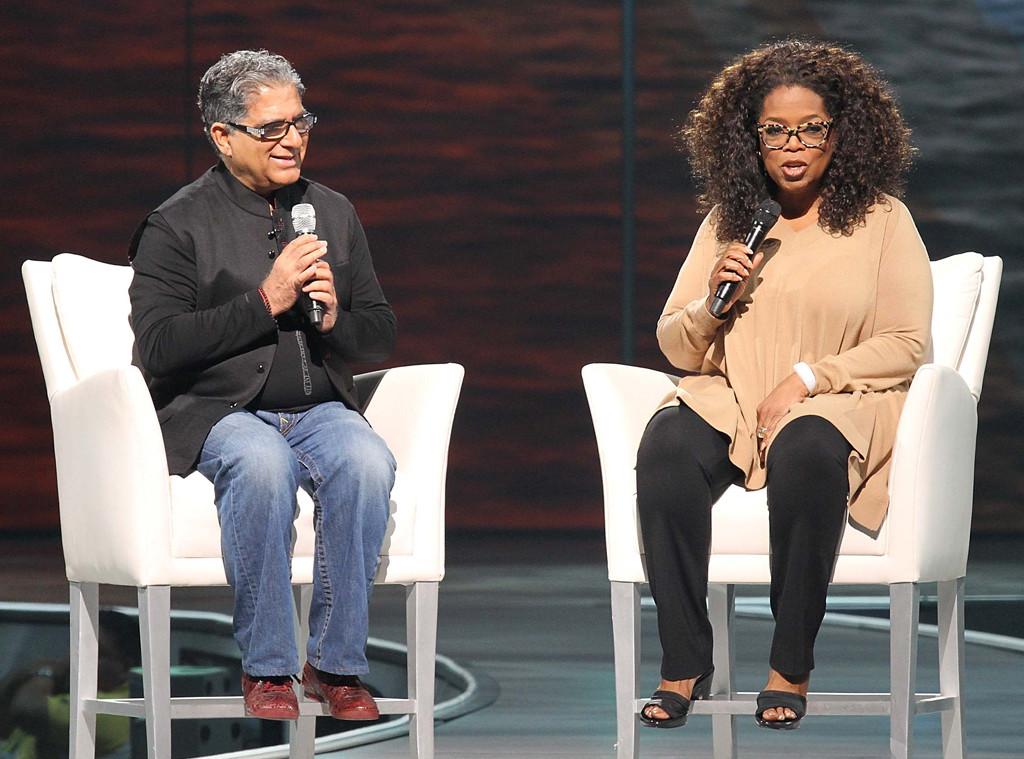 Deepak Chopra, Oprah Winfrey