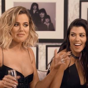 Kourtney Kardashian, Khloe Kardashian, KUWTK 10th Anniversary Special