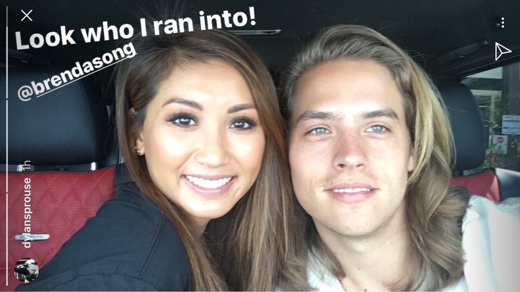 Suite Life\u0027s Dylan Sprouse \u0026 Brenda Song Reunite