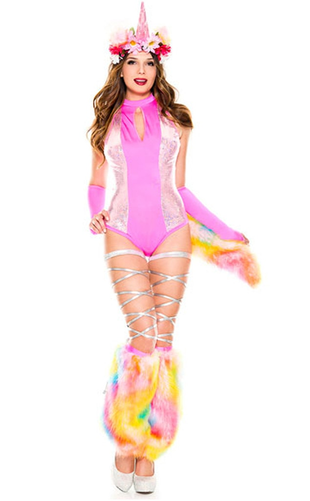 Unicorn From Cute  Surprisingly Sexy Halloween Costumes  E News-8708