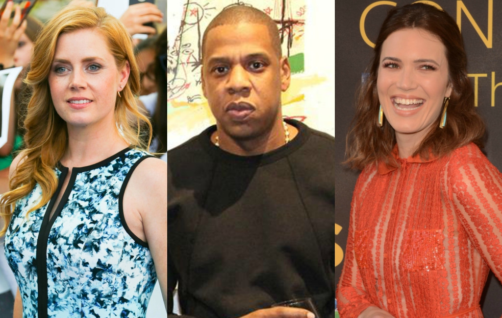 Amy Adams, Jay Z, Mandy Moore