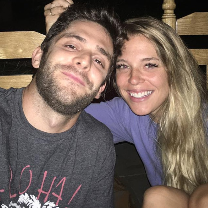 e565e7c799 Thomas Rhett Gushes Over Amazing Relationship With Wife Lauren Akins  See a  Timeline of Their Romance