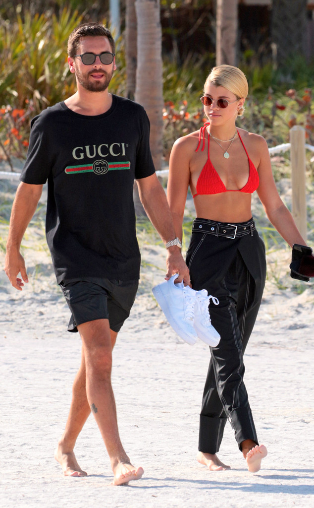 Scott Disick, Sofia Richie, Miami