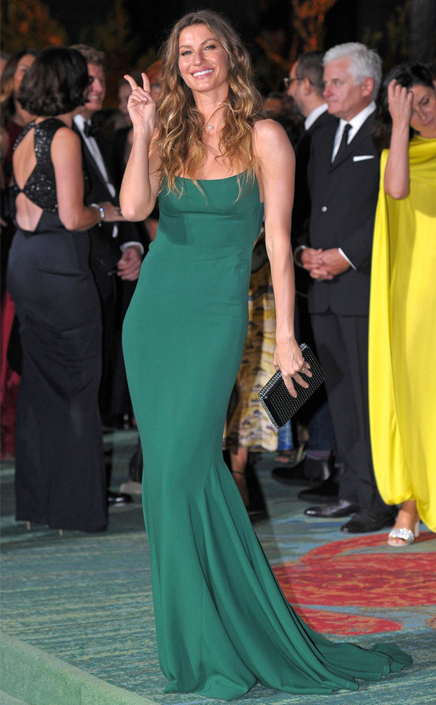 Gisele Bündchen, Green Carpet Fashion Awards Italia