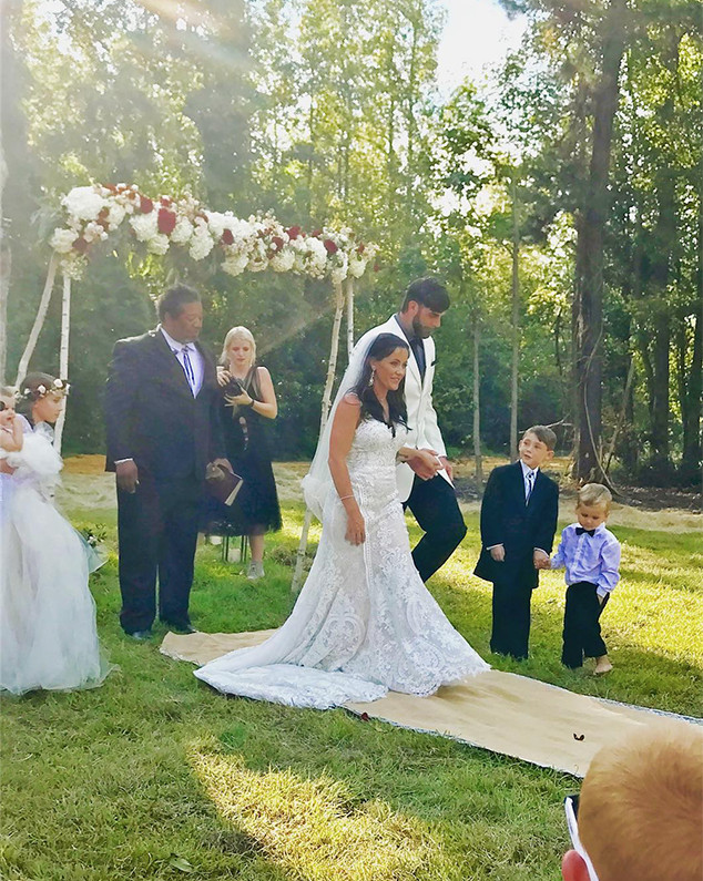 Jenelle Evans Wedding Instagram