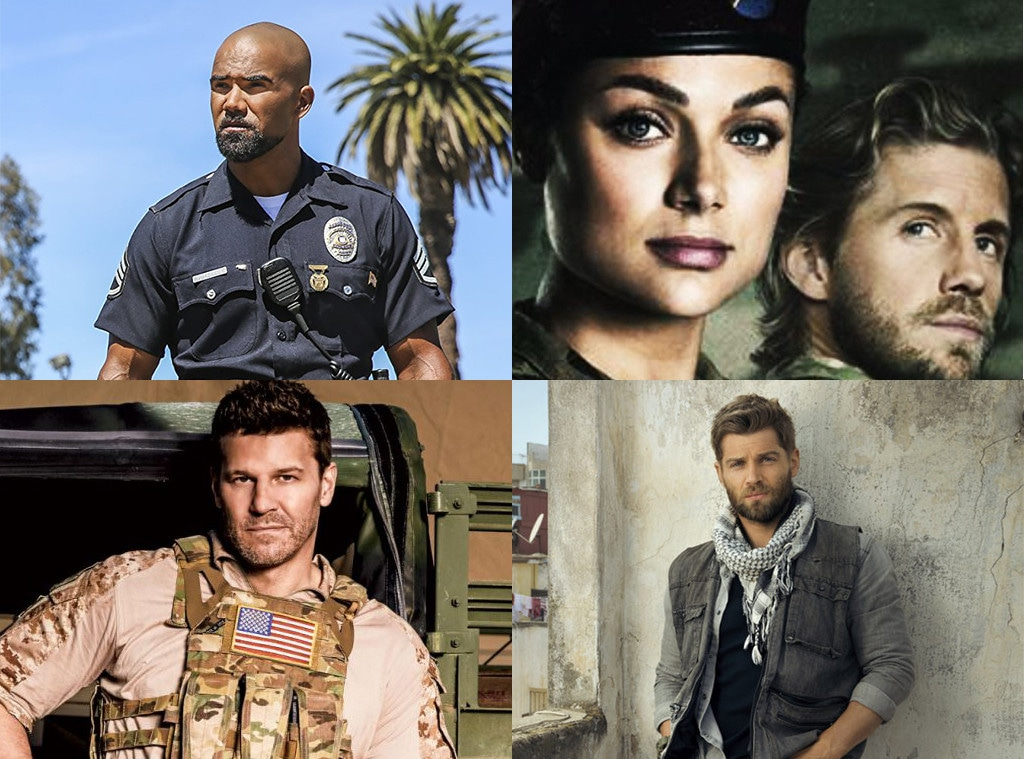 Military Shows, Valor, The Brave, SEAL Team, SWAT