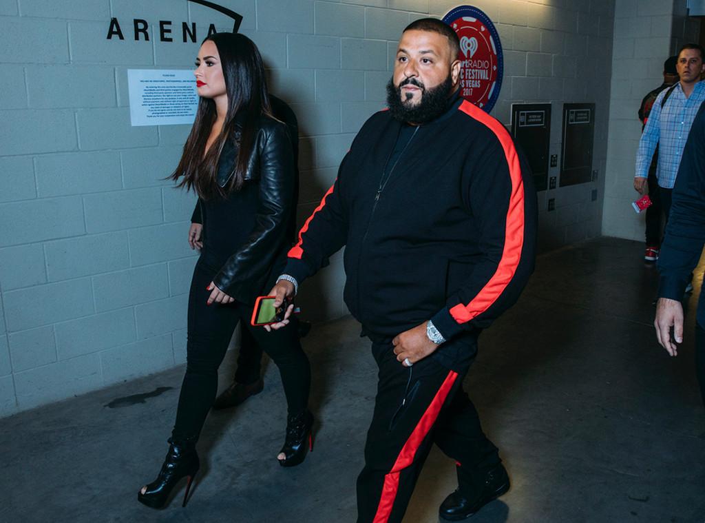 Demi Lovato, DJ Khaled, iHeartRadio Music Festival BTS photos
