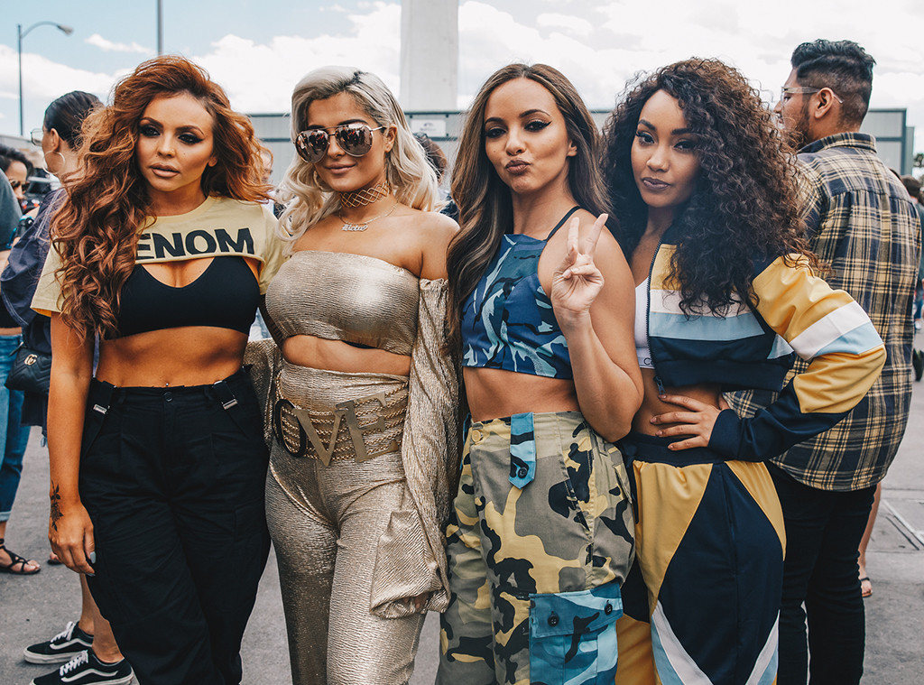 Little Mix, iHeartRadio Music Festival BTS photos