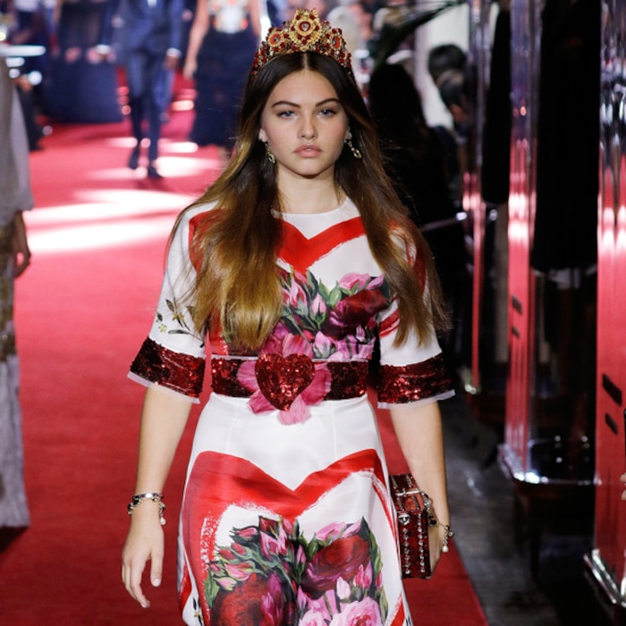 Teen Model Dubbed Most Beautiful Girl In The World At Age 6 Walks In Dg Fashion Show E News