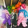 Adam Levine, Behati Prisloo, Unicorn Balloons