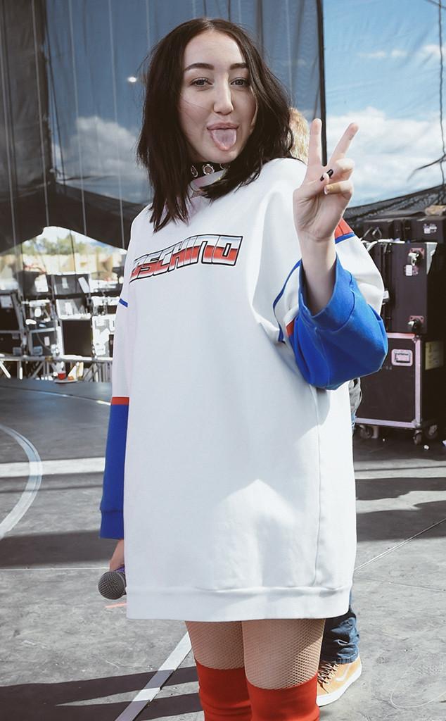 Noah Cyrus, iHeartRadio Music Festival BTS photos