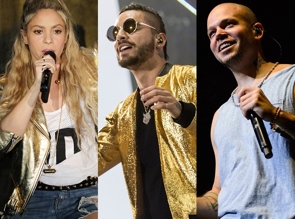 Shakira, Maluma, Residente