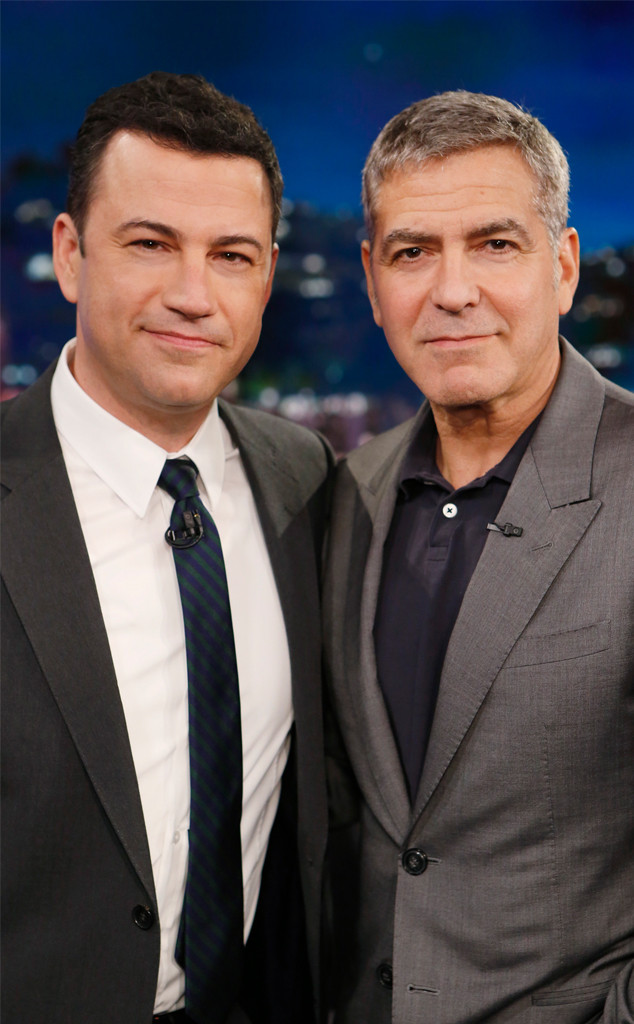 Jimmy Kimmel, George Clooney