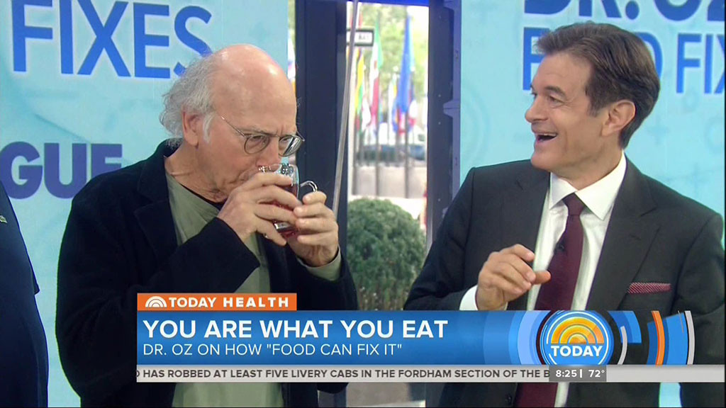 Larry David, Today, Matt Lauer