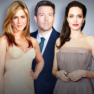 Celebrity Breakups, Jennifer Aniston, Ben Affleck, Angelina Jolie