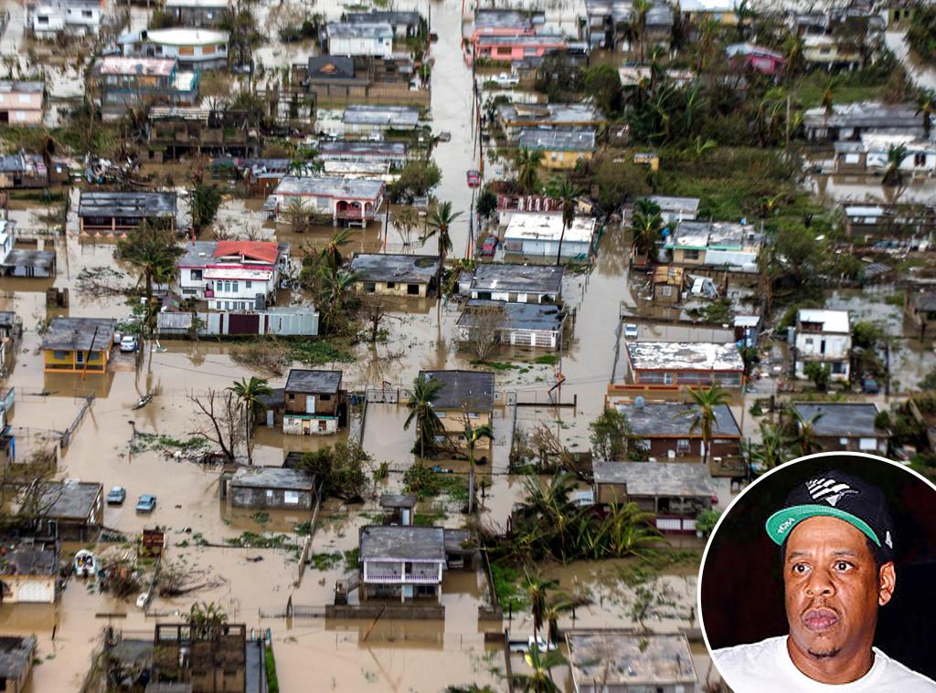 Hurricane Maria, Puerto Rico, Jay Z