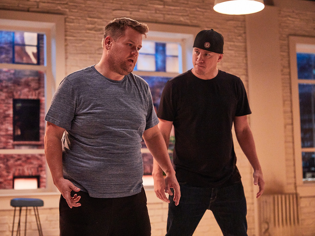 Channing Tatum, James Corden, The Late Late Show