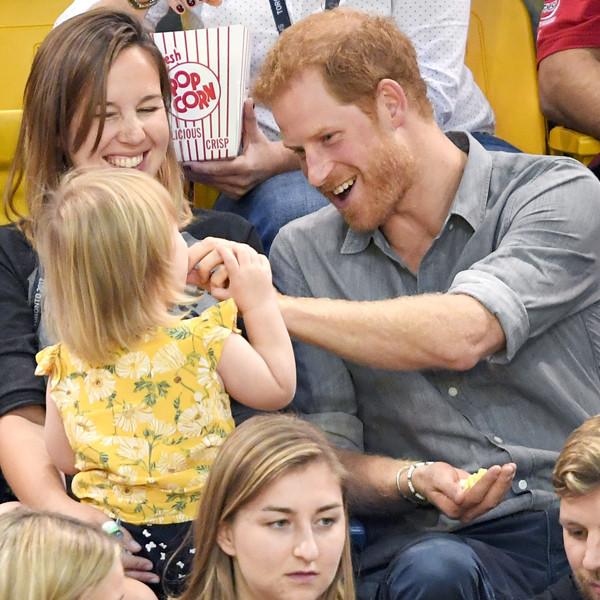 Prince Harry, Hayley Henson, Emily