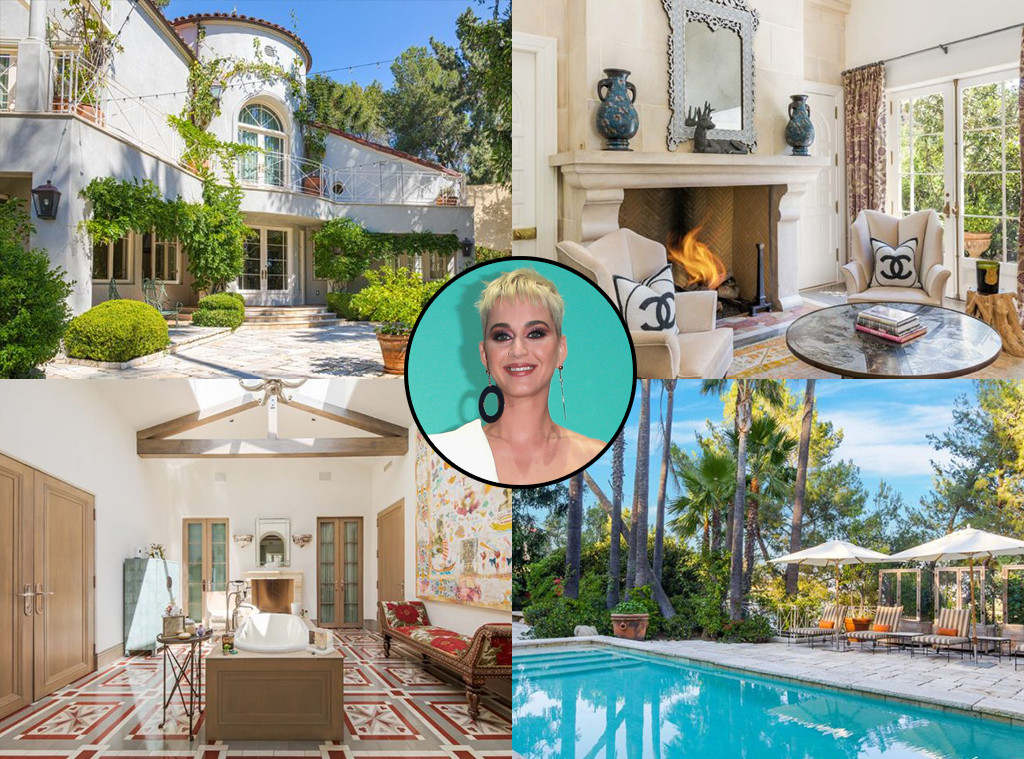 Katy Perry, Hollywood Hills Home