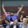 Justin Timberlake, Jessica Biel, 2017 U.S. Open