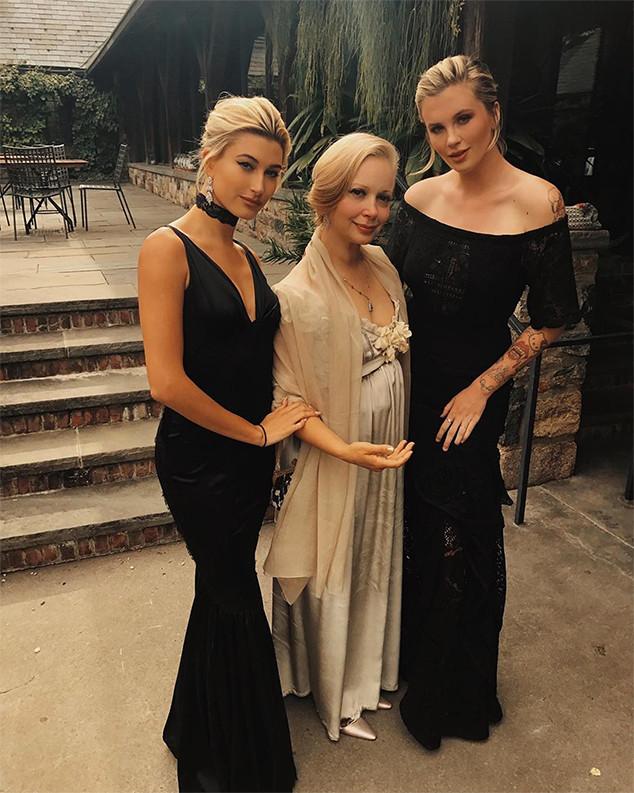 Hailey Baldwin Is Maid Of Honor At Sister Alaia Baldwin S Fun Filled