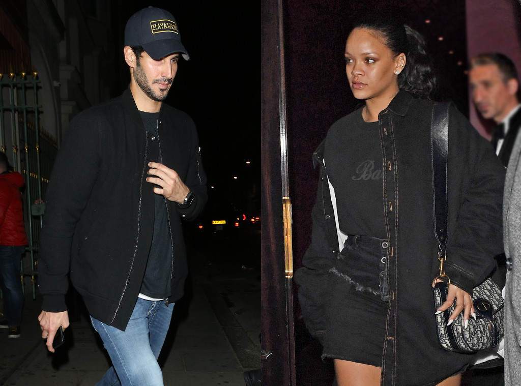 Rihanna and Boyfriend Hassan Jameel Spotted on Romantic