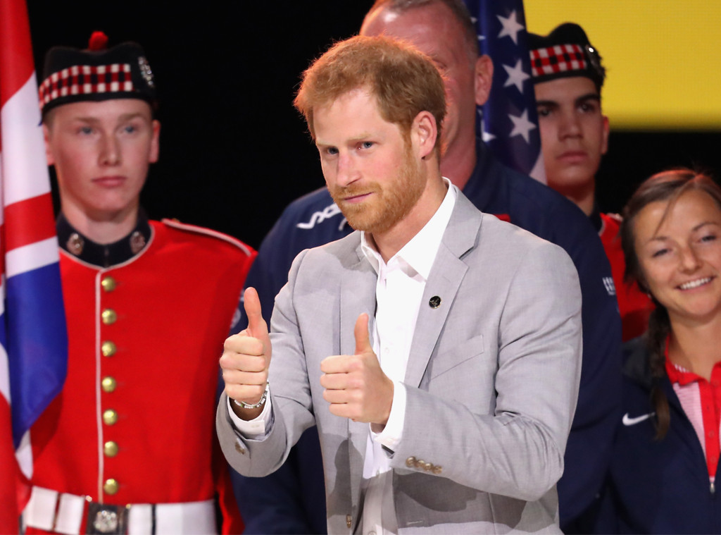 Prince Harry, Invictus Games Closing Ceremony