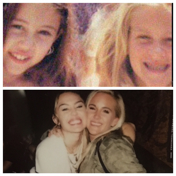 Miley Cyrus, BFF, Lesley Patterson