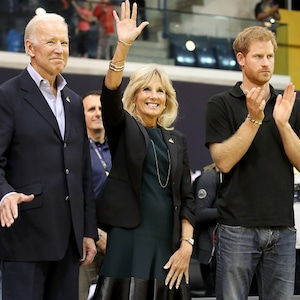 Joe Biden, Jill Biden, Prince Harry, Invictus Games