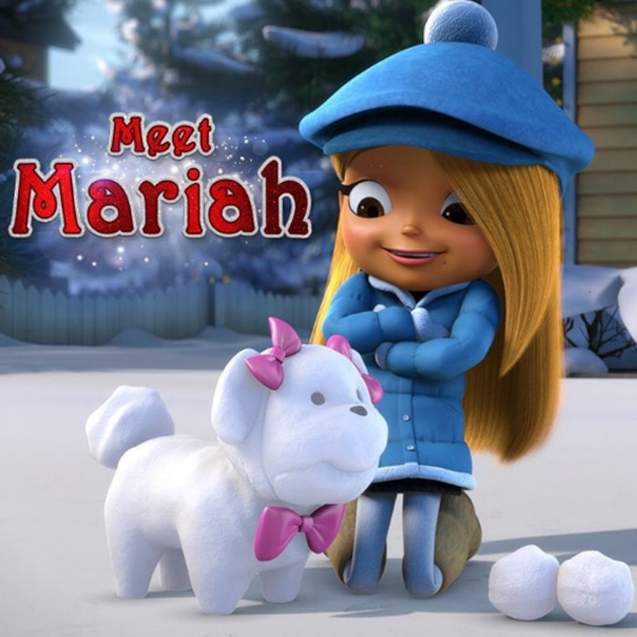 All I Want For Christmas Is You Movie.Mariah Carey Gets Animated In New All I Want For Christmas