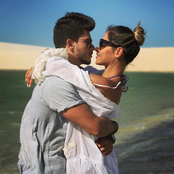 Arthur Aguiar, Mayra Cardi, Instagram
