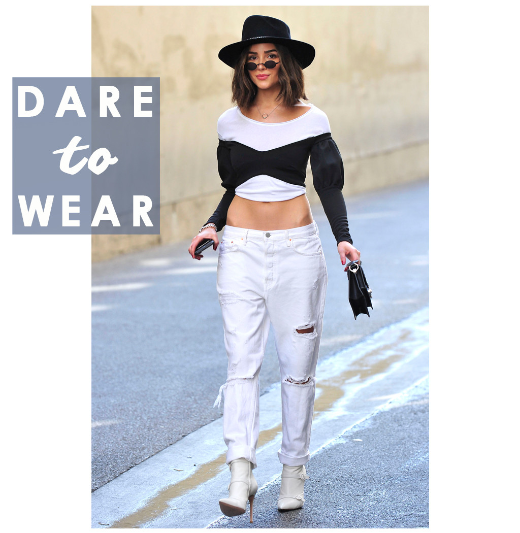 ESC: Olivia Culpo, Dare to Wear