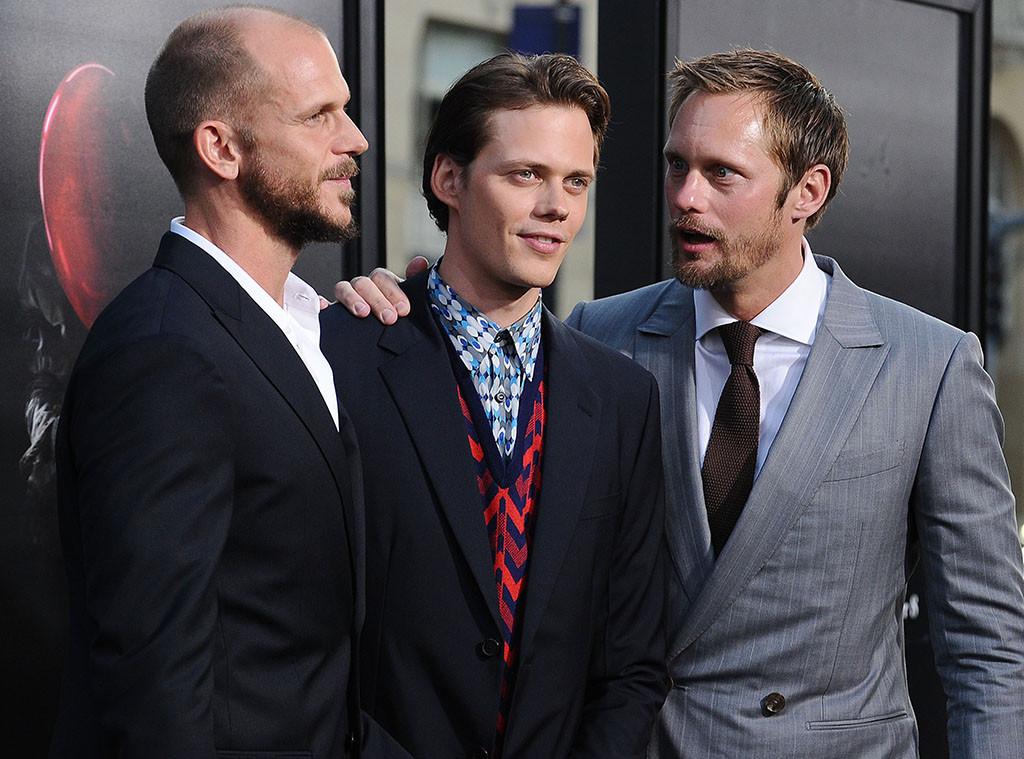 Gustaf Skarsgard, Bill Skarsgard, Alexander Skarsgard