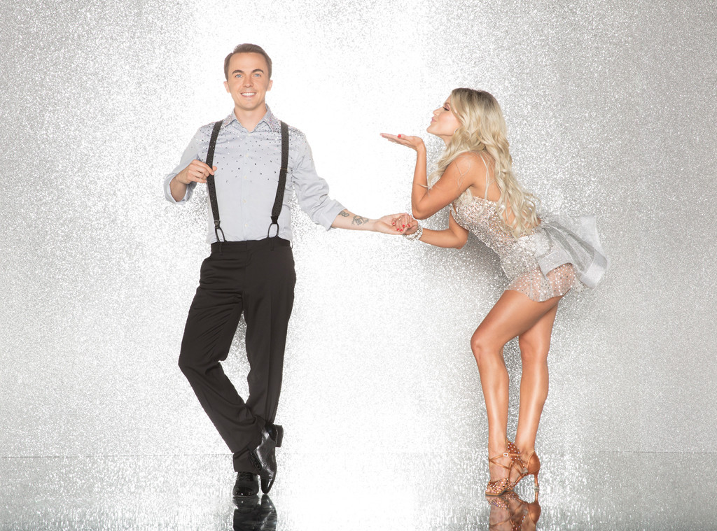 Frankie Muniz and Witney Carson, DWTS