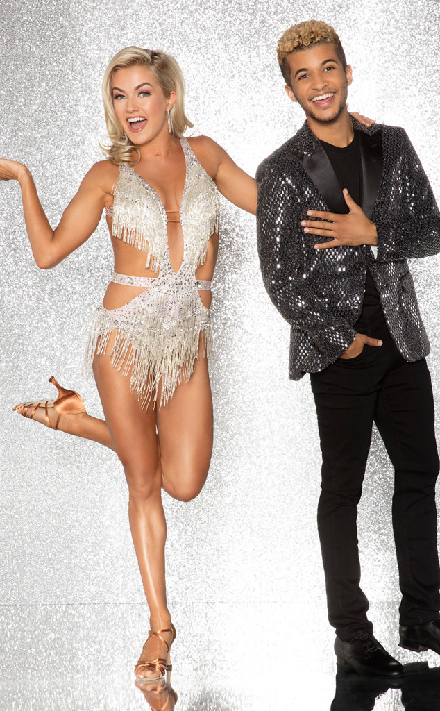Jordan Fisher and Lindsay Arnold, DWTS