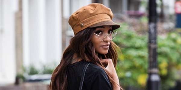 0b8eb3774f Hats off to Jourdan Dunn for Fall's Go-To Accessory | E! News