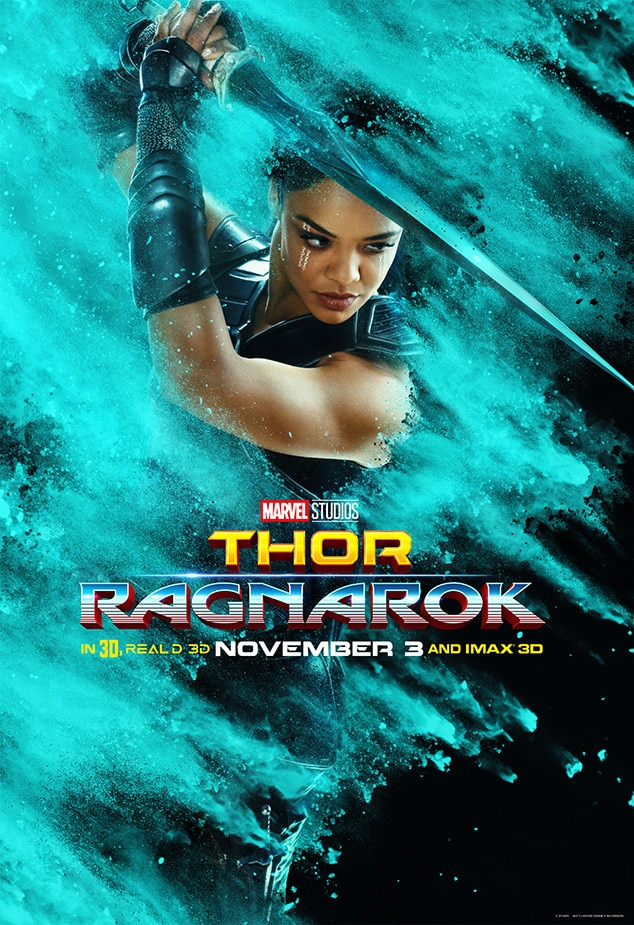 Tessa Thompson From Thor Ragnarok Movie Posters