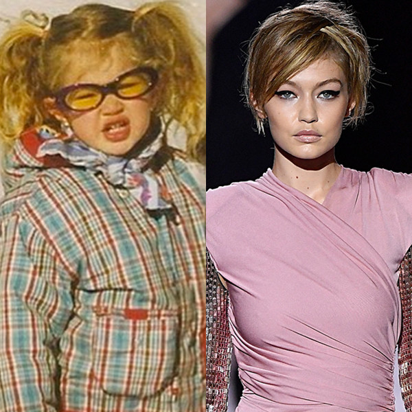 Gigi Hadid s E! Volution From Awkward Kid to Catwalk Queen   E! News 5d3649f139a1