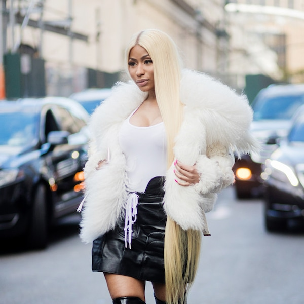 Nicki Minaj From Best Celeb Street Style From Nyfw Spring 2018 E News