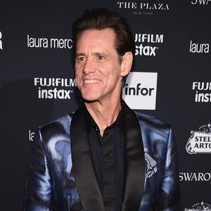 Jim Carrey, NYFW 2017, Harpers Bazaar Party