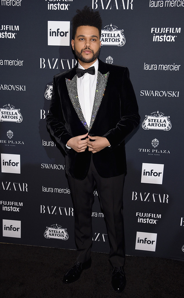The Weeknd, NYFW 2017, Harpers Bazaar Party