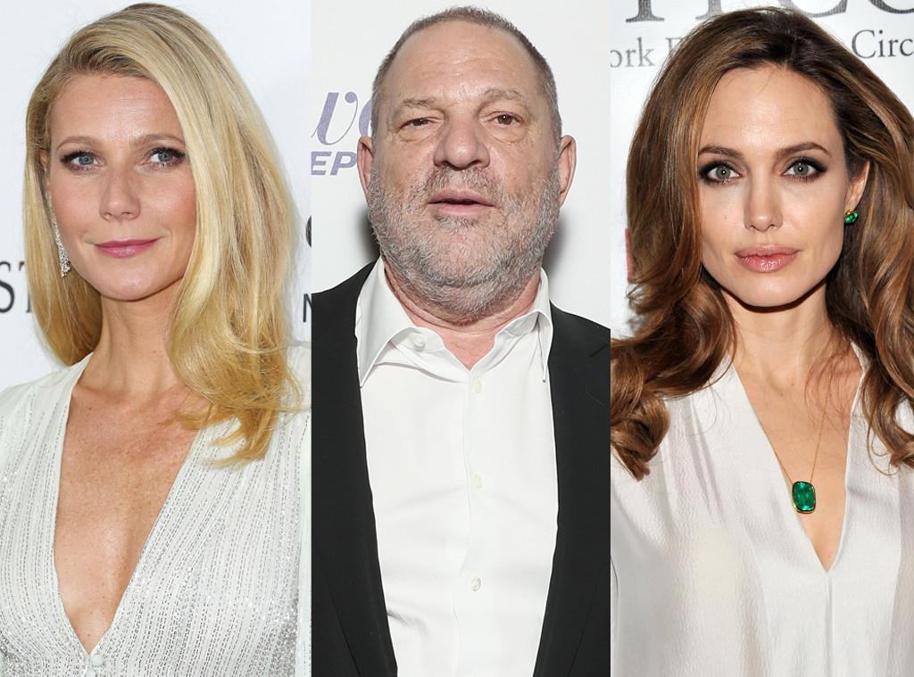 Angelina Jolie, Gwyneth Paltrow, Harvey Weinstein