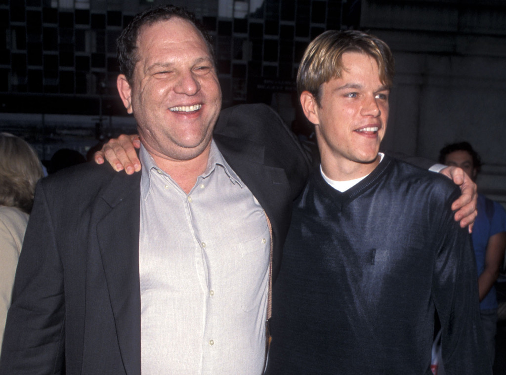 Harvey Weinstein, Matt Damon