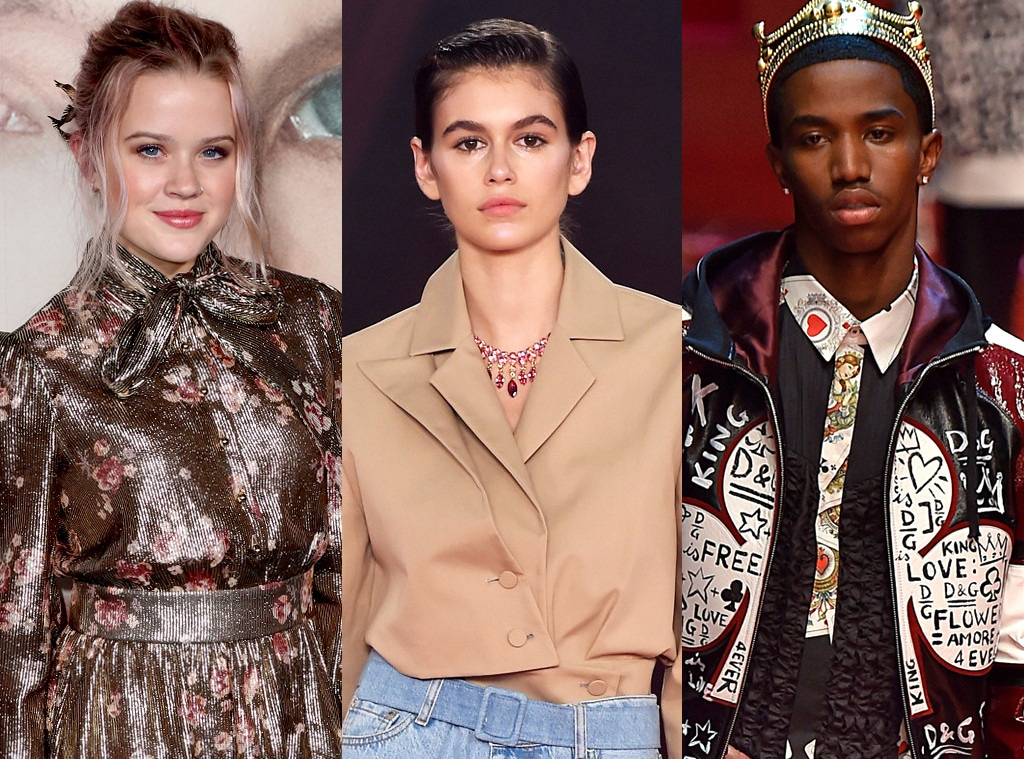 Ava Phillippe, Kaia Gerber, Christian Combs, Model, Runway