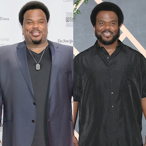 Craig Robinson, Weight Loss