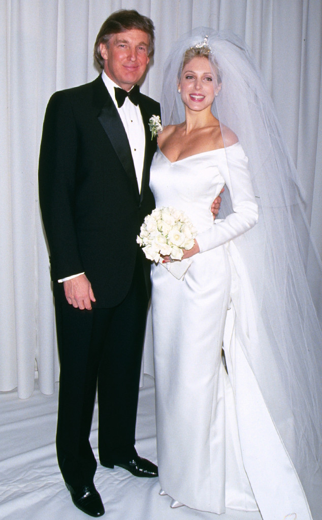 Marla Maples, Donald Trump, Wedding