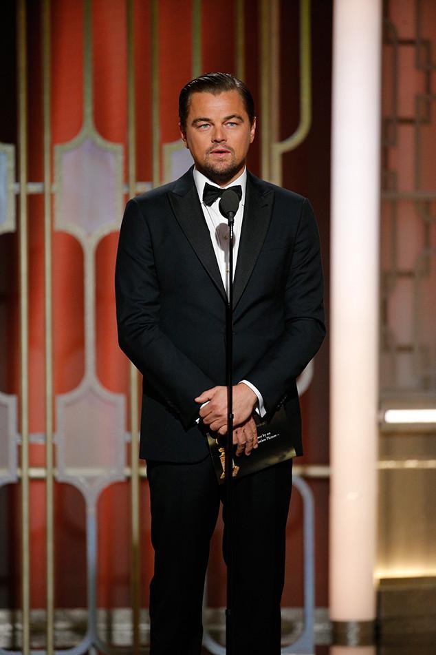 Leonardo DiCaprio, 2017 Golden Globes