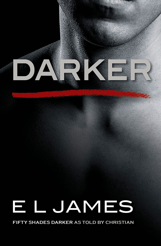 Fifty Shades Darker, Book Jacket, Darker