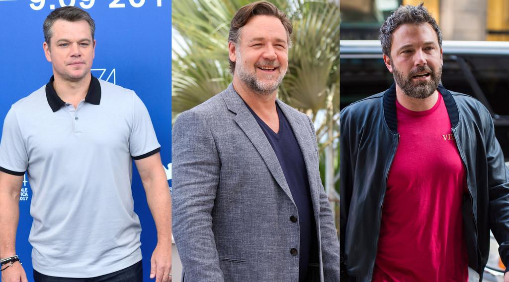 Matt Damon, Russell Crowe, Ben Affleck