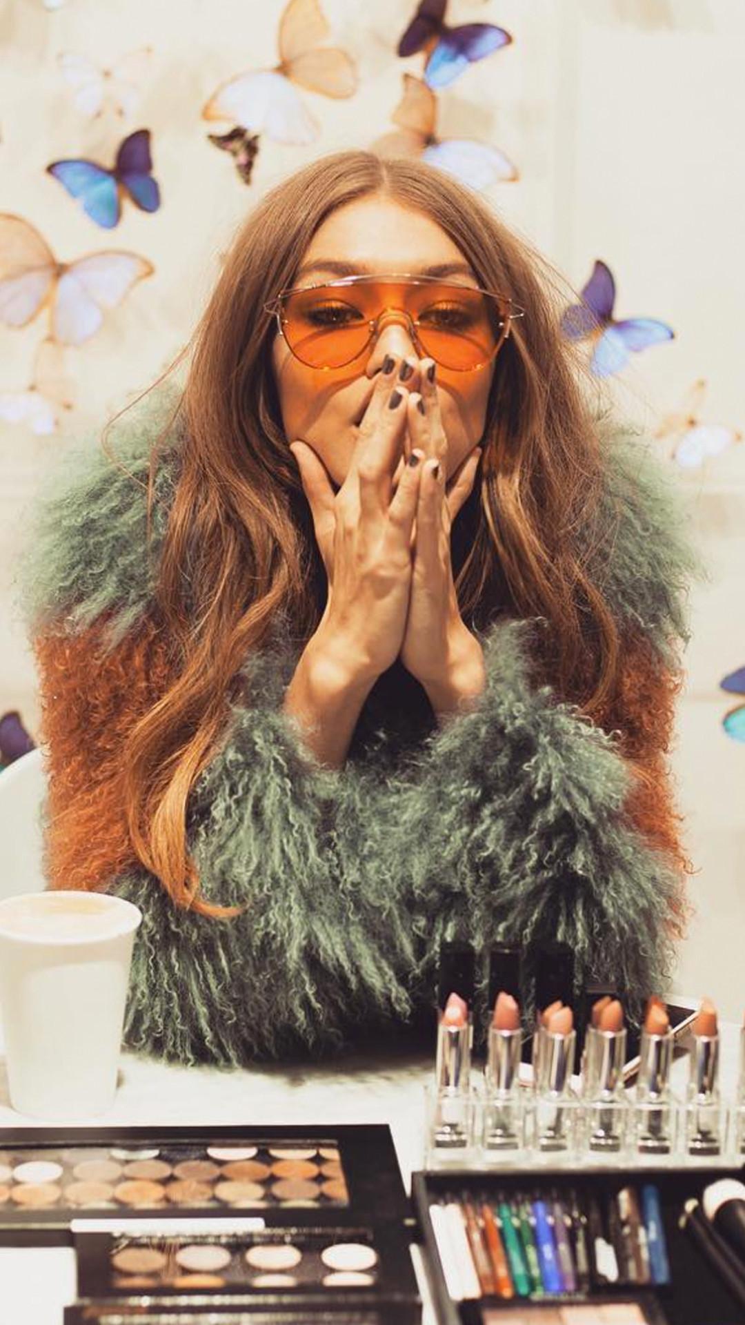 ESC: Gigi Hadid, Maybeline